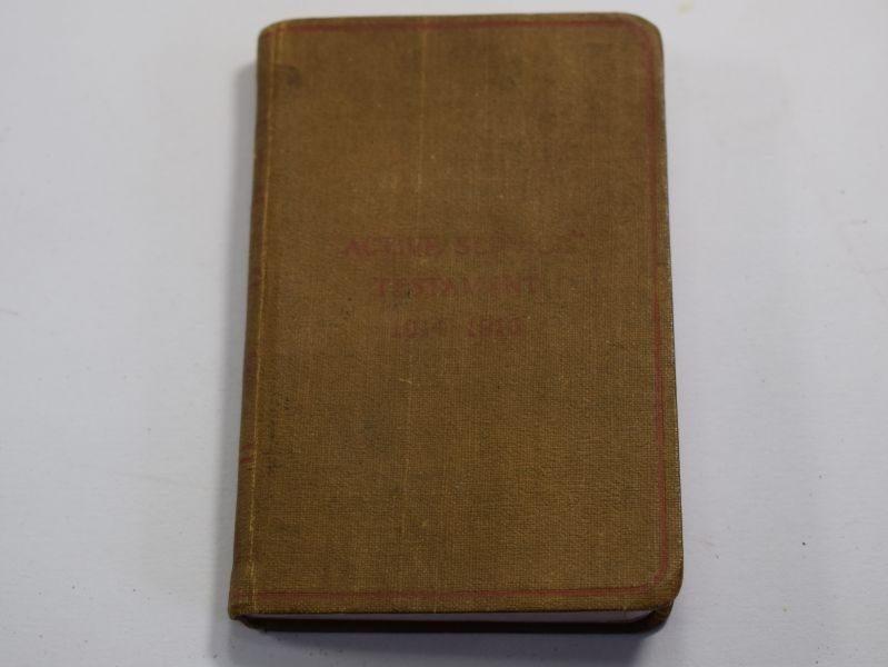 Original WW1 British Active Service Testament 1914-1916