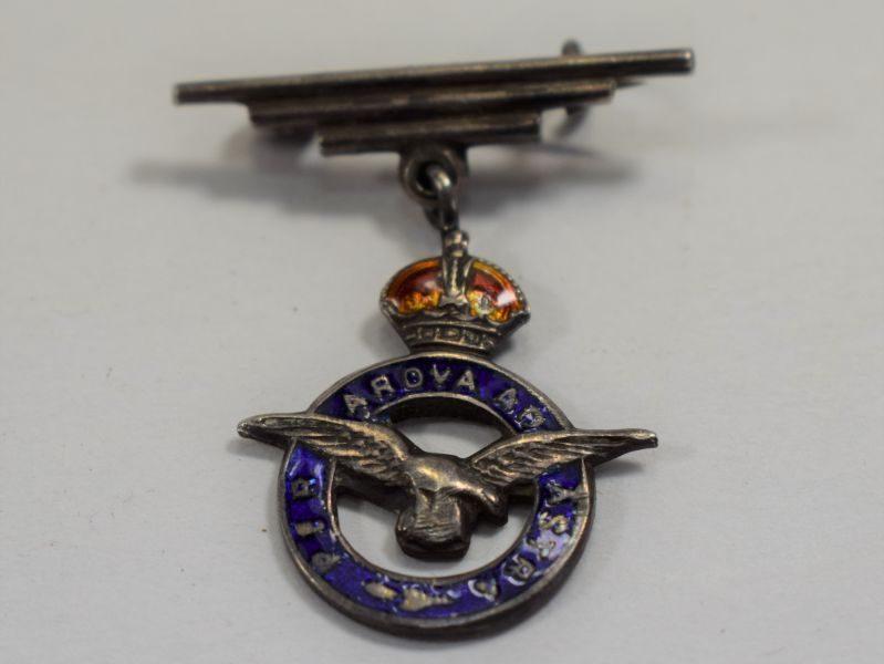 Nice Early WW2 RAF Sweetheart Brooch with Pin Back