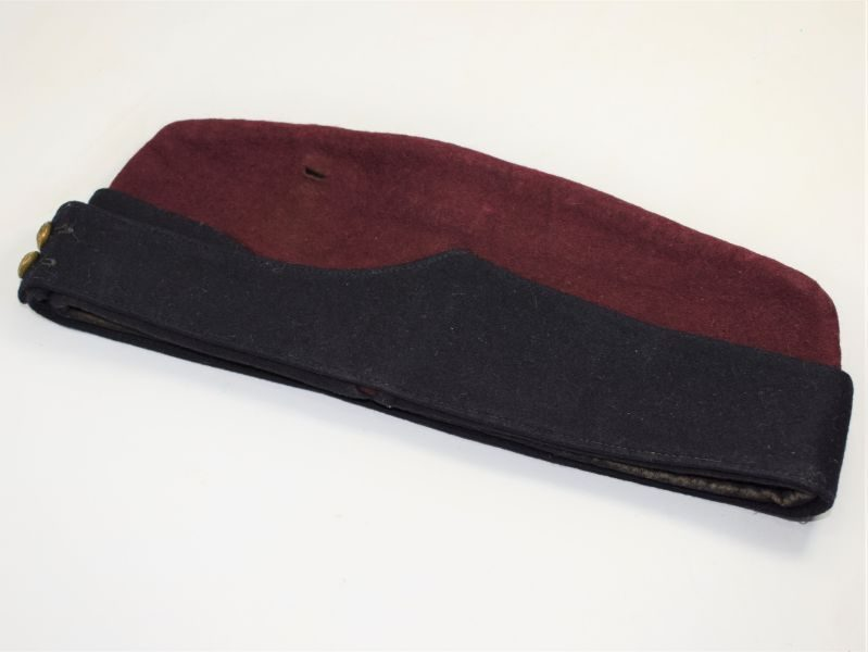 WW1 WW2 British RAMC Coloured Field Service Cap