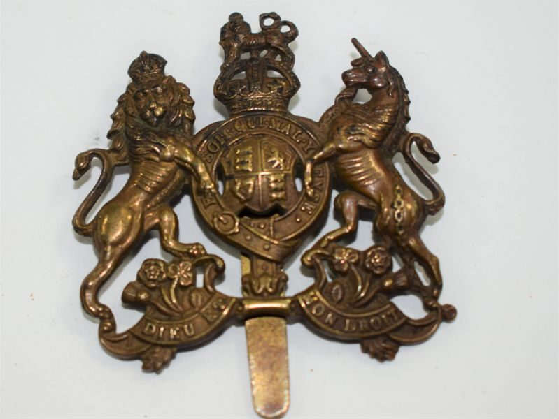 Original Ww1 Ww2 British Army General Service Cap Badge