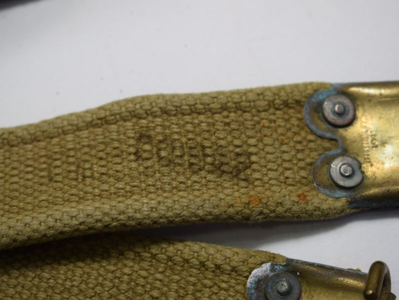 Excellent Ww2 Indian Made British Service Rifle Sling