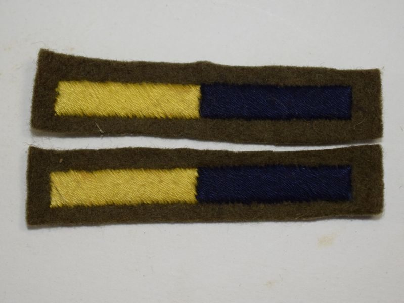 WW2 British Army RASC Arm of Service Stripe Pair