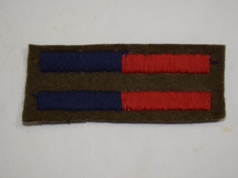 WW2 British Army RA & RE Arm of Service Stripe Pair