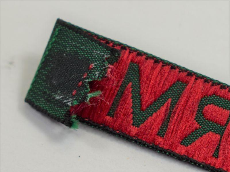 Unidentified Original WW2 Womens Land Army Cloth Tape Title