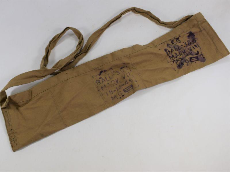 WW2 British Army Issue Cotton Ammo Bandolier Dated 1941