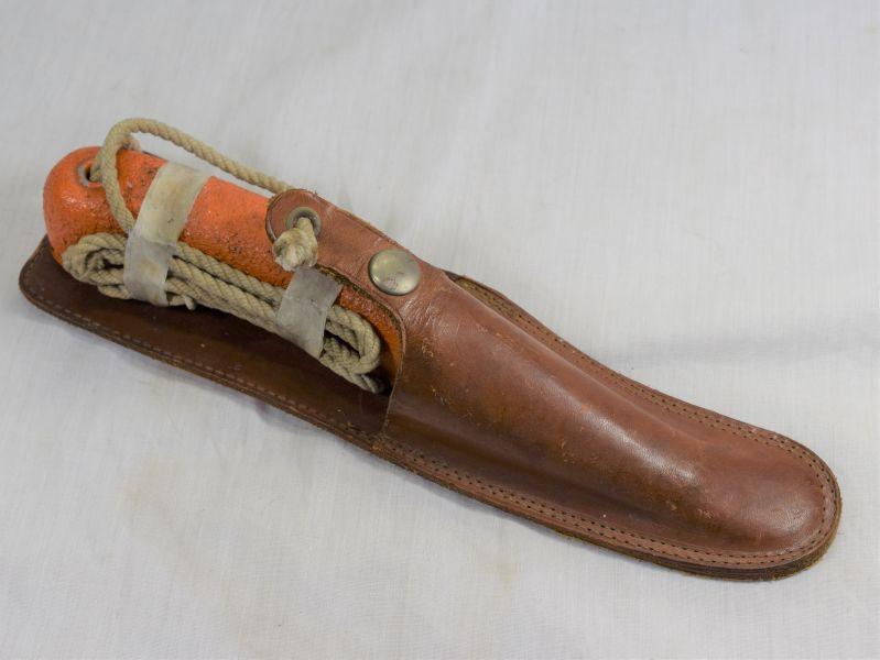 Ww2 Raf Issue Dinghy Knife Amp Leather Scabbard 27c 2024