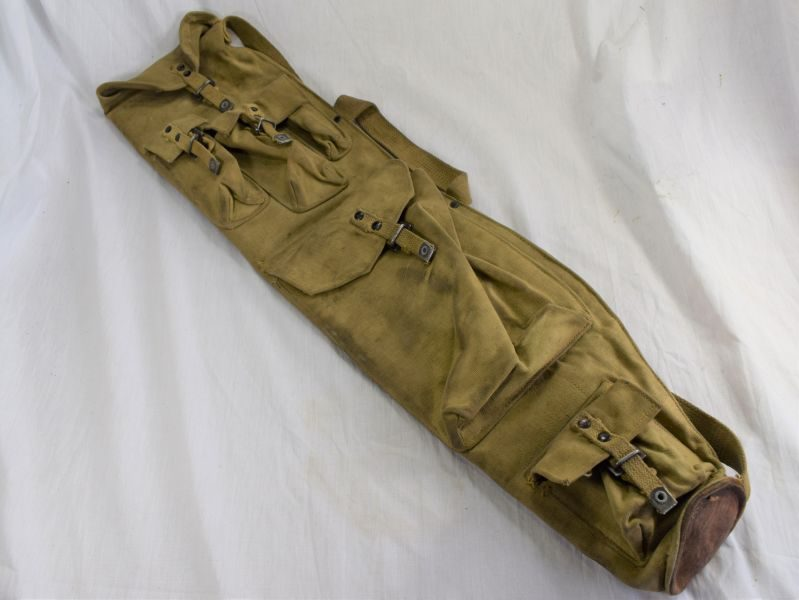 42 Nice Original WW2 Canadian Made Bren Spare Barrel Bag Dated 1943
