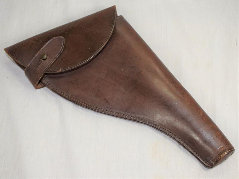 Original WW1 WW2 British Army Officers Leather Holster .455