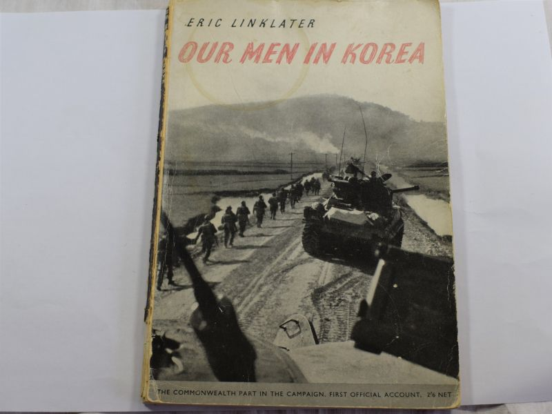 Original 1952 HMSO Publication Our Men In Korea