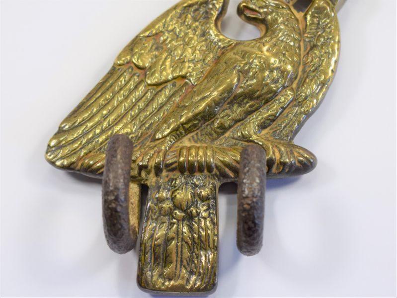 Very Nice Original WW1 Imperial German Eagle Drum Hanger