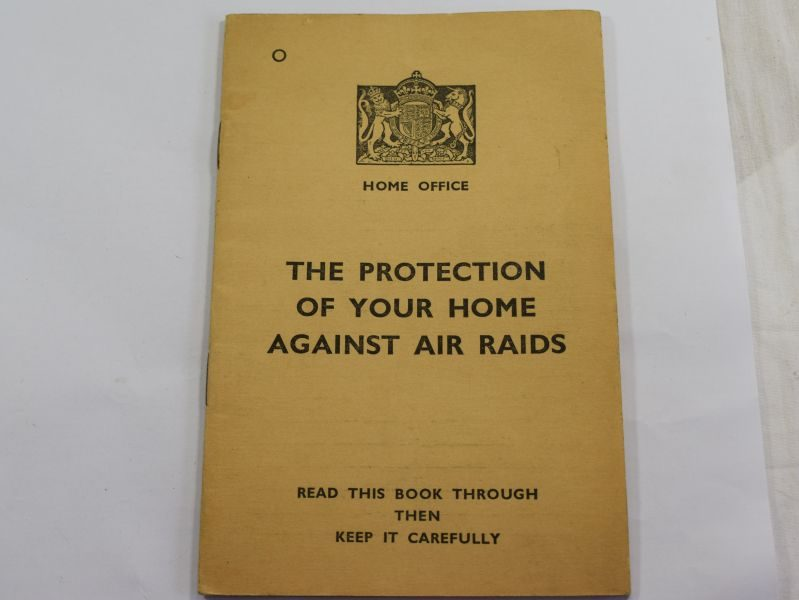 Original 1938 Dated Pamphlet The protection of Your Home Against Air Raids.