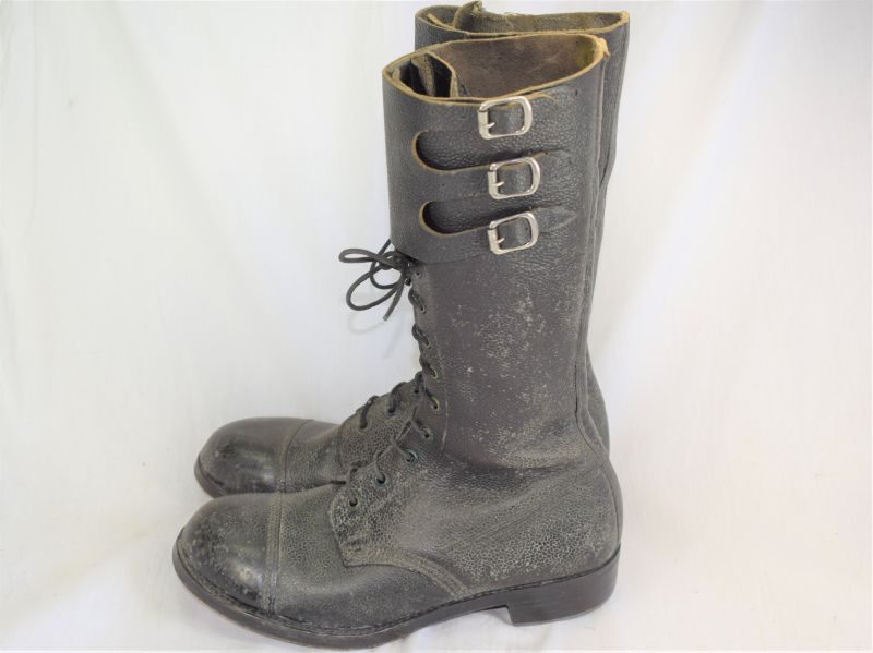 Excellent WW2 British Dispatch Riders Boots in Exceptional Condition 1943