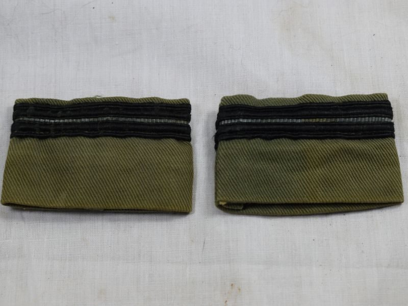 Late WW2 Early Post War Flying Officer Rank Slides for Flying Suit