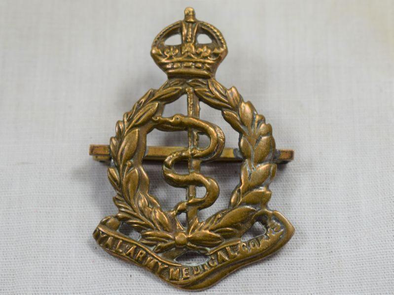 52 WW1 WW2 British Pin Back Badge to the RAMC