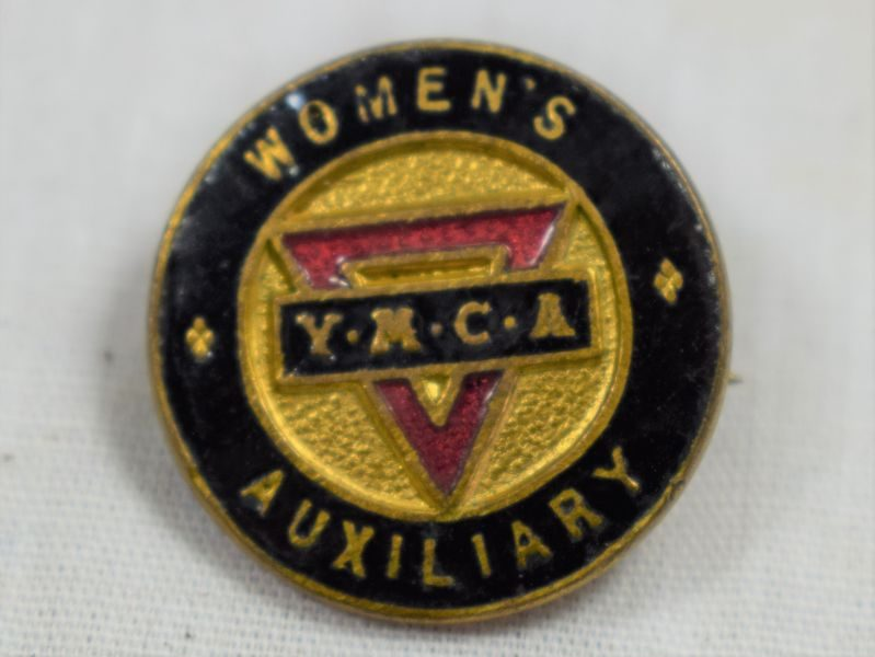 55 Original Small WW1 YMCA Woman's Auxiliary Pin Badge