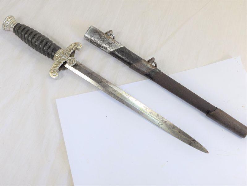 16 Original WW2 German Nazi Water Customs Dagger By Eickhorn