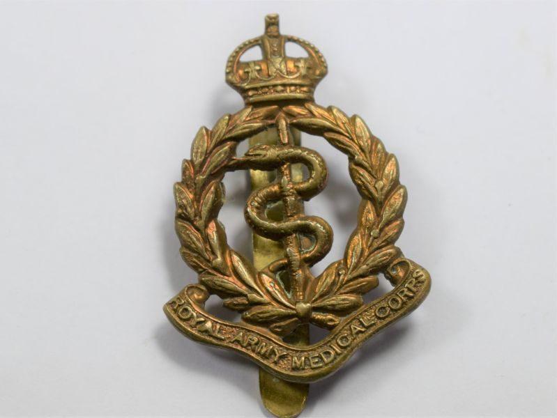 57 Original WW1 WW2 Royal Army Medical Corps Cap Badge