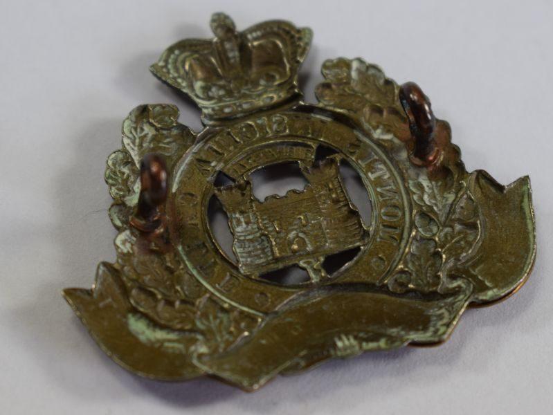 1 Excellent Original Victorian Cap Badge The Suffolk Regiment