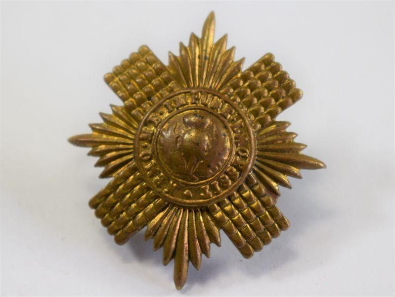 Original WW1 WW2 Brass Cap Badge to the Scots Guards