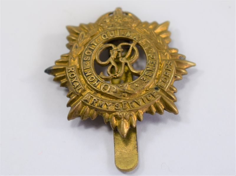 Original WW2 Cap Badge to the Royal Army Service Corps