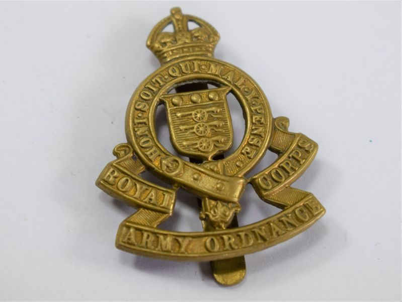 Original WW2 Cap Badge to the Royal Army Ordnance Corps