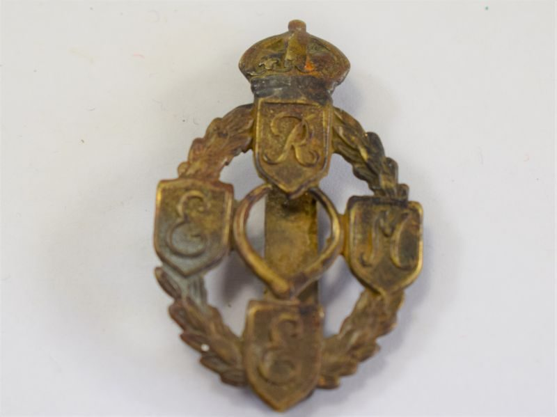 Original WW2 Cap Badge to the Royal Electrical & Mechanical Engineers