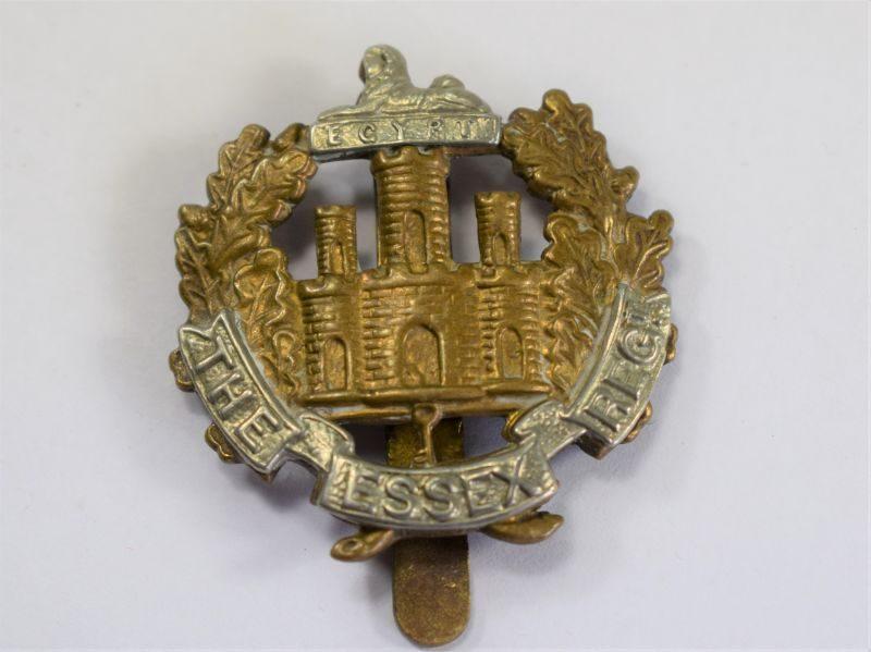 Original WW1 WW2 Cap Badge to the Essex Regiment