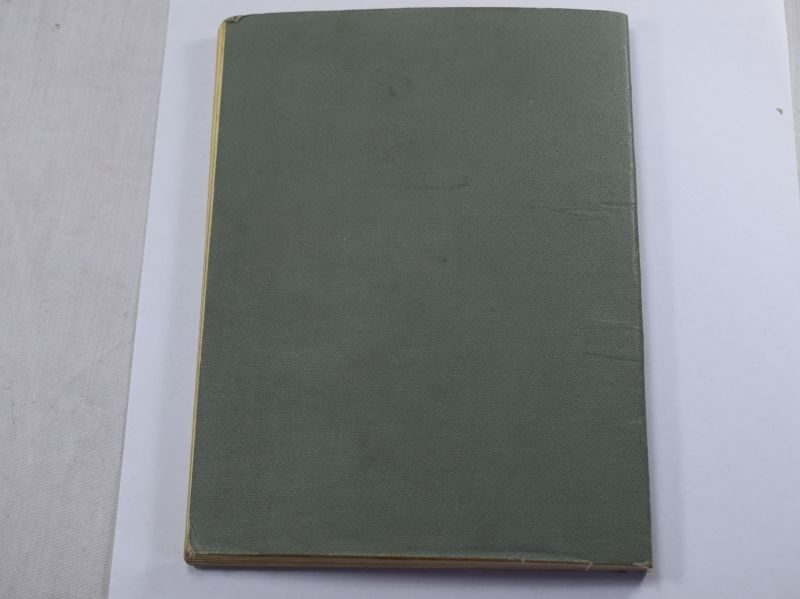 Original WW2 British Army Artillery War Office Booklet Range Table part II 1938