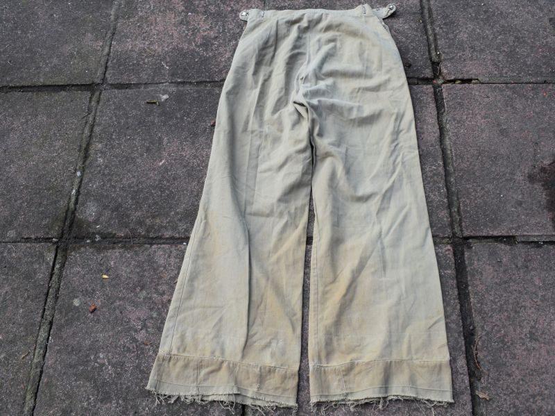 WW2 ATS WAAF Womans Khaki Drill Trousers