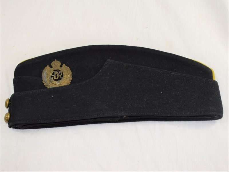 Excellent WW2 Royal Engineers Coloured Field Service Cap