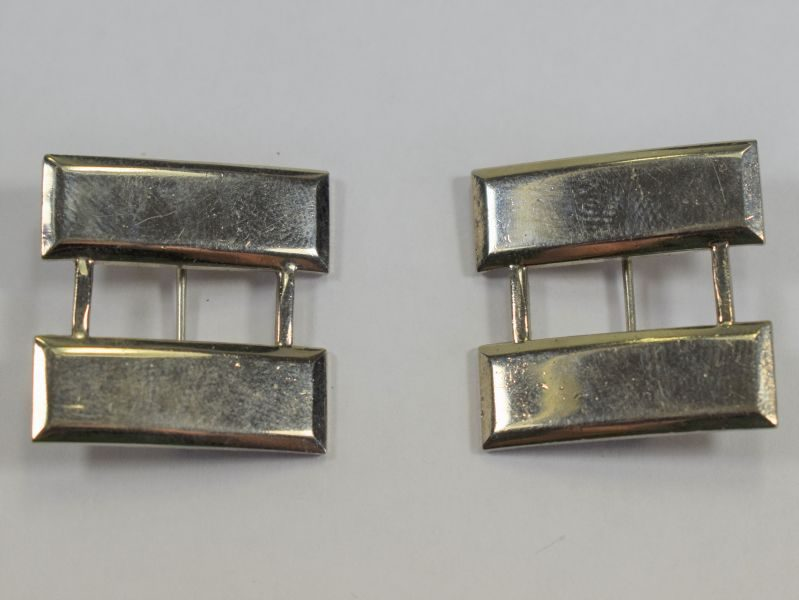 30 WW2 US Army Captains Rank Bar Pair by N.S.Meyer Inc