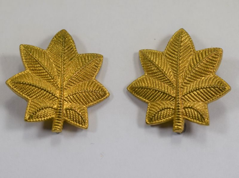 31 Original WW2 US Army Majors Pin Back Rank Device Pair
