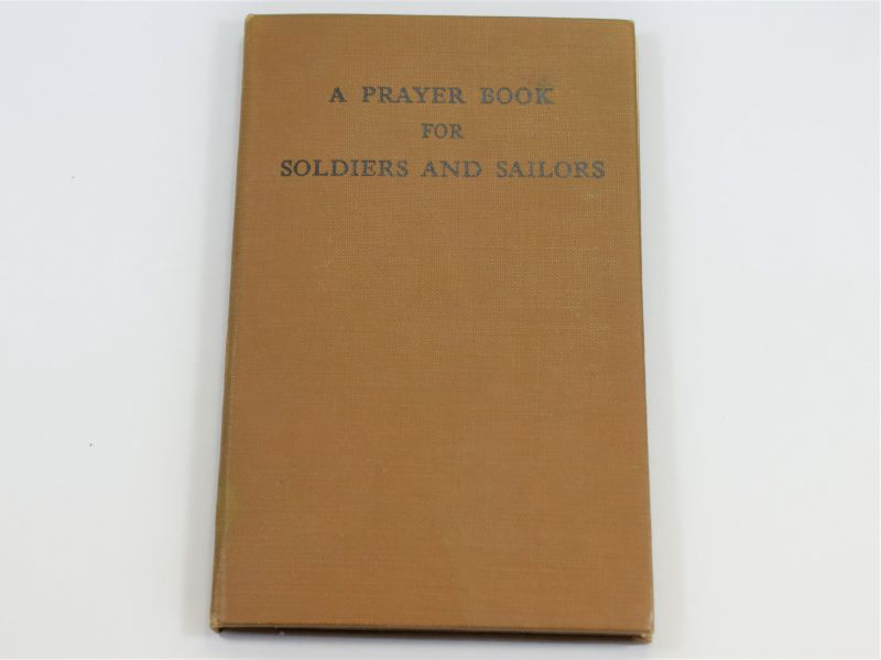Original WW2 US Prayer Book For Soldiers And Sailors Dated May 1944