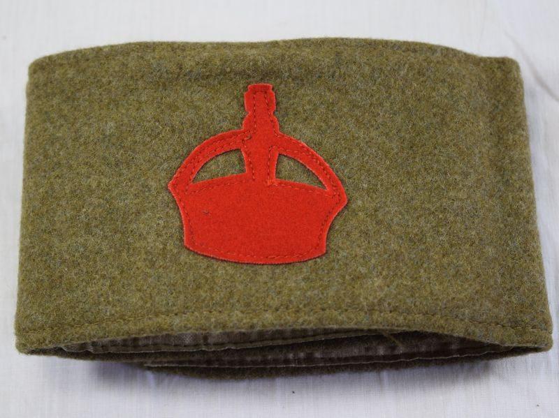 Near Mint Original Unissued WW1 British Derby Scheme Armband