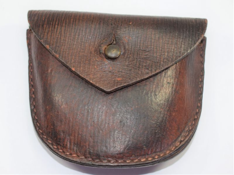 Excellent WW1 British Officers 1903 Pat Leather Ammo Pouch