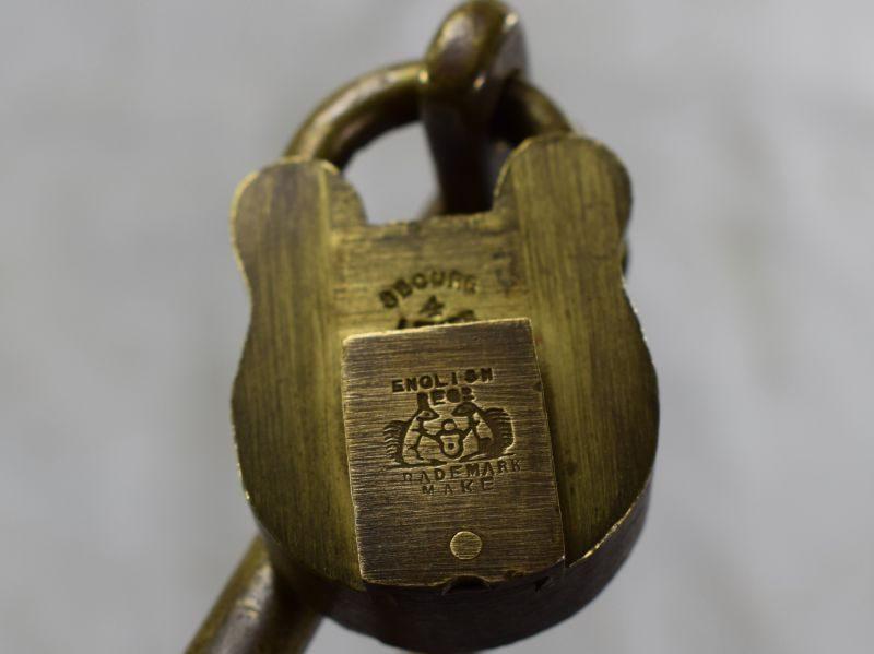 WW1 WW2 Heavy Duty Kit Bag Lock & Padlock