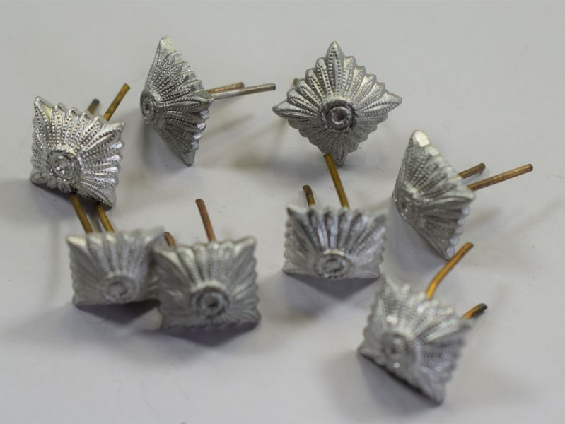 43 Group of 8 Original WW2 German Silver Alloy Rank Pips ...