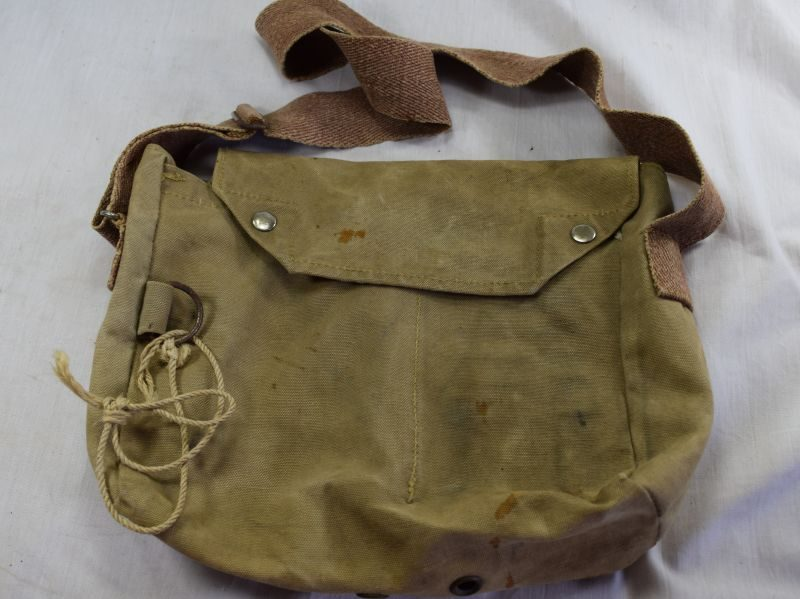 Unusual WW2 Glamorgan Constabulary Respirator Bag