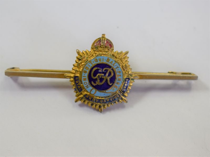 48 WW2 British Royal Army Service Corps Sweetheart Brooch