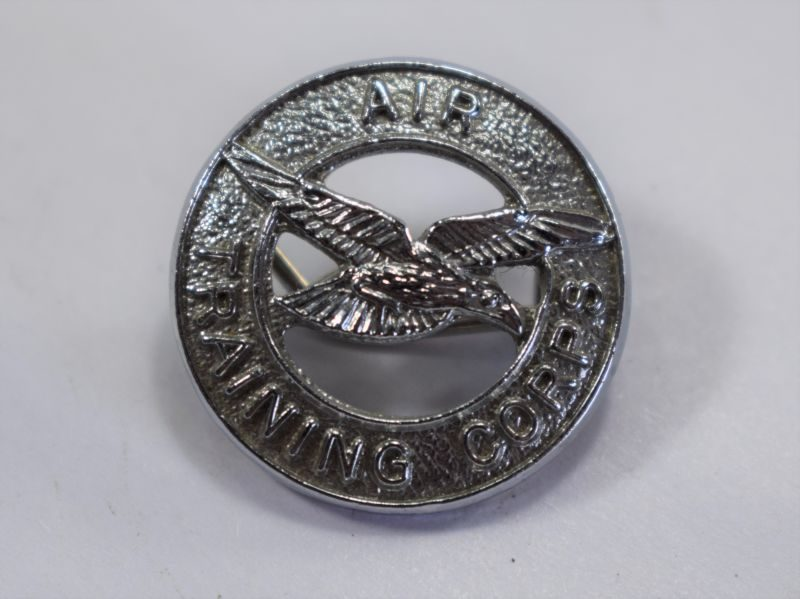 Original WW2 Era Air Training Corps Pin Back Badge