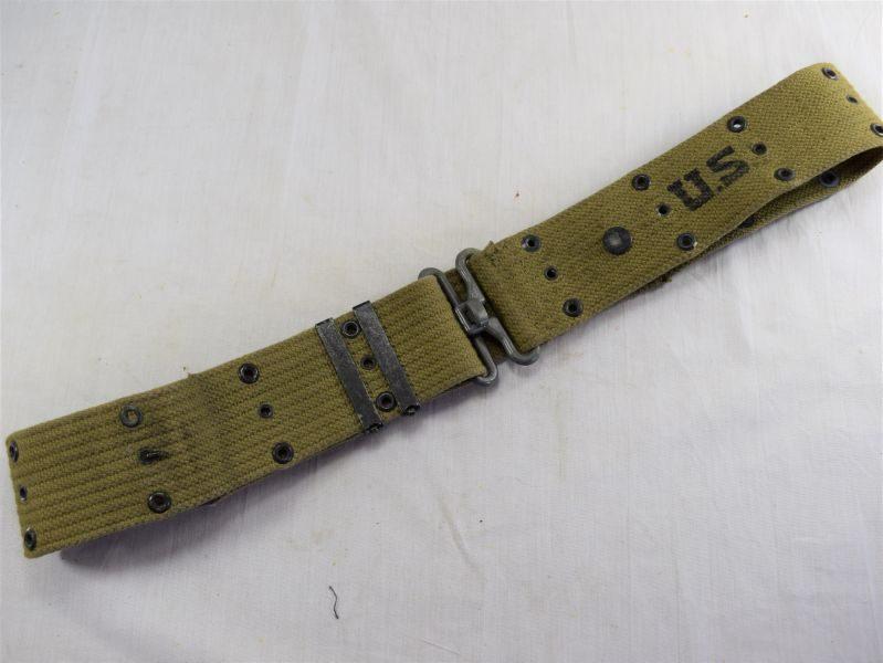 Excellent Original WW2 US Army Issue Pistol Belt 1942