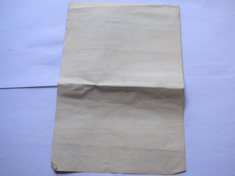 Original WW2 Salute The Soldier Certificate of Honour 1944