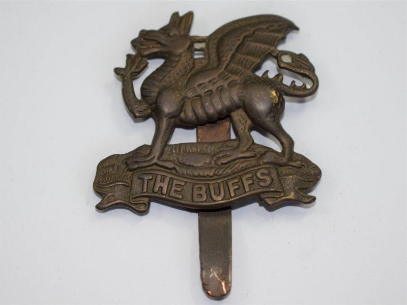 9 Original WW1 WW2 Cap Badge The Buffs Royal East Kent Regiment