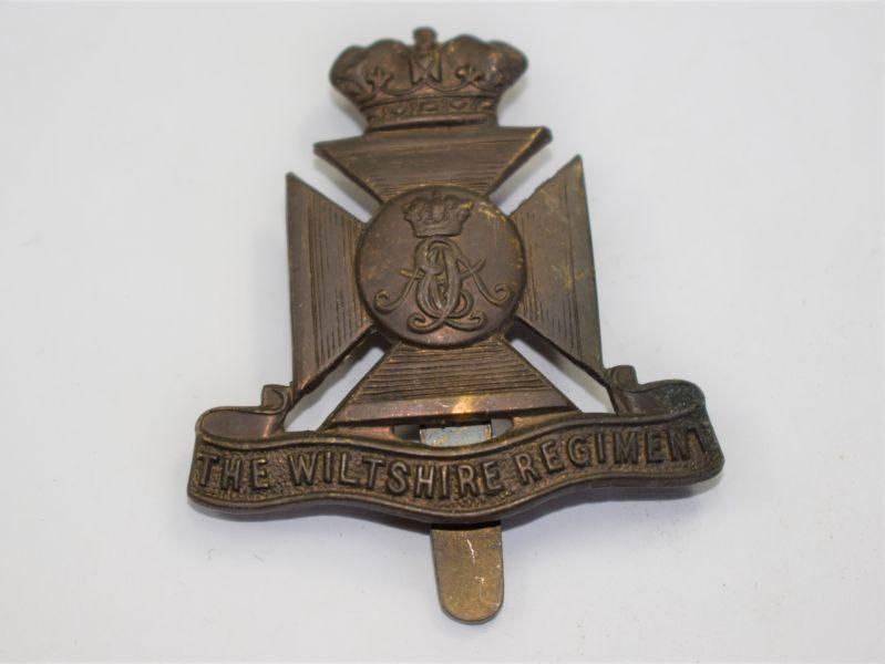 10 Original WW1 WW2 Cap Badge The Wiltshire Regiment