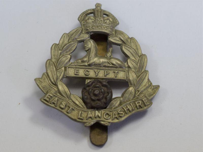 11 Original WW2 Cap Badge The East Lancashire Regiment