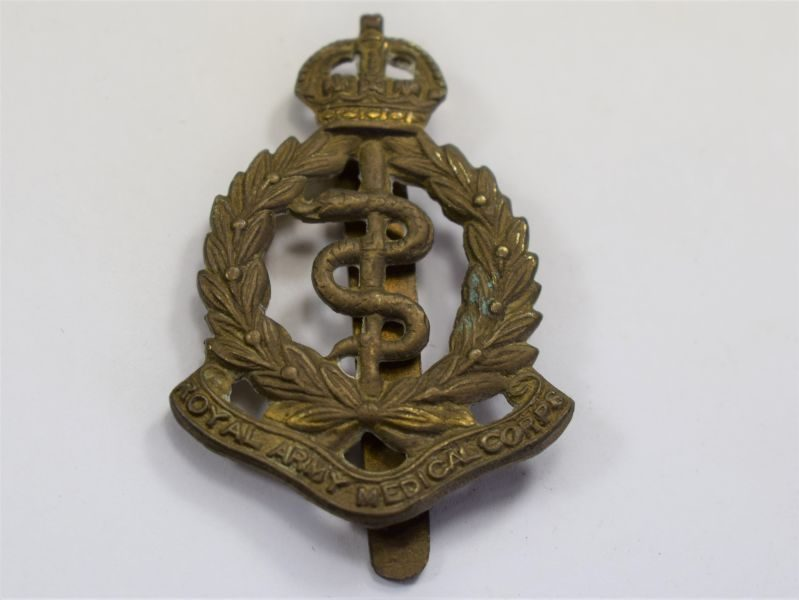 19 Original WW1 WW2 Cap Badge The Royal Army Medical Corps