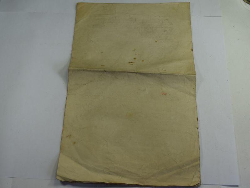 41 Original Standing Orders (War) Highland Division Territorial Force 1914
