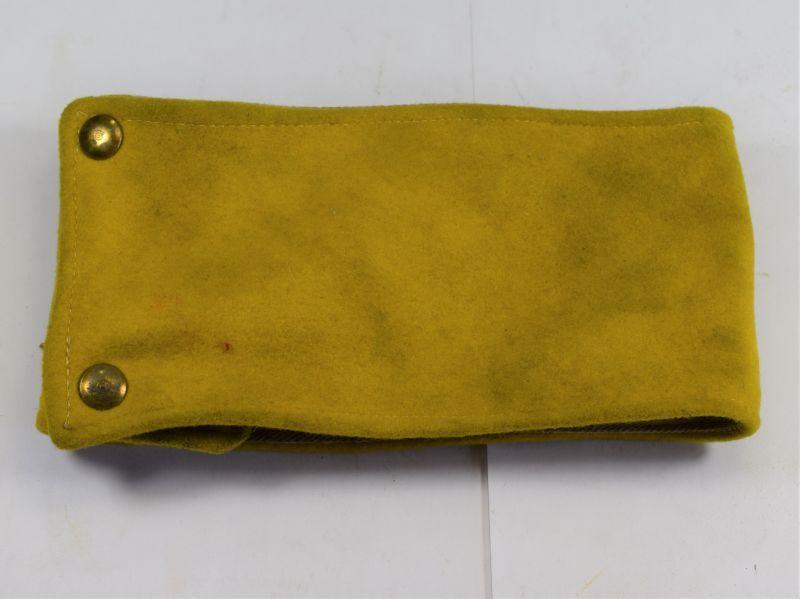 52 Interesting Unidentified WW2 British Army Yellow Armlet Armband