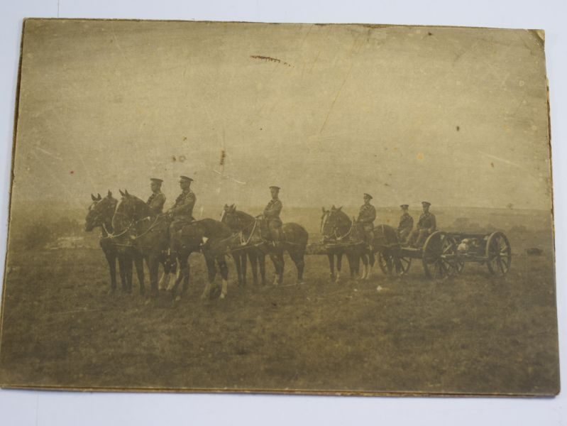 Small Original WW1 Royal Horse Artillery Photograph