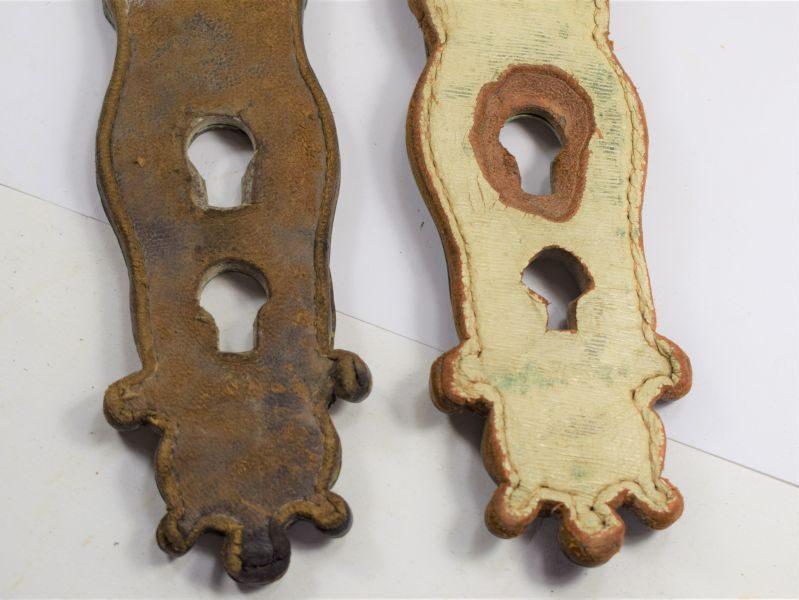 Vintage Original Horse Guards Breast Plate Shoulder Straps Shoulder Scales
